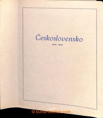 223618 - 1945-1980 [SBÍRKY]  GENERÁLNÍ  / pěkná sbírka na zaskl