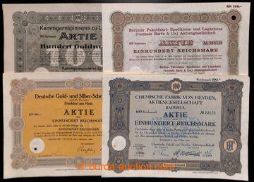 223648 - 1924-1942 NĚMECKO/ sestava 10ks různých německých akcí