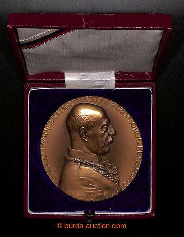 223651 - 1933 ČSR / bronzová jednostranná medaile 1933 - Vaníček