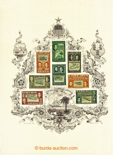 223713 - 1971 LIBÉRIE /  A CENTURY OF LIBERIAN PHILATELY, Rogers, H.