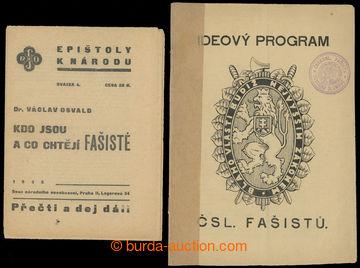 223717 - 1925-1938 ČSR / ČESKOSLOVENSKÝ FAŠISMUS  sestava 5 dobov