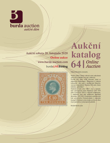 223786 - 2020 BURDA AUCTION s.r.o., catalogue jednodenní Aukce 64, c