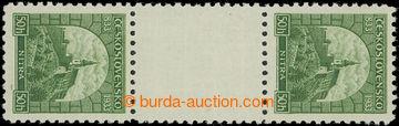 223812 - 1933 Pof.273Ms(2), Nitra 50h zelená, svislé 2-zn. meziarš
