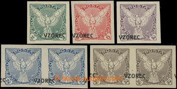 223846 - 1918 Pof.NV2vz, NV3vz, NV4-NV6vz, Sokol v letu 2h, 6h, 10h,