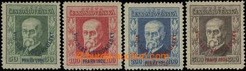 223856 - 1926 Pof.183-186, Slet 50h - 300h, základní série, různ�