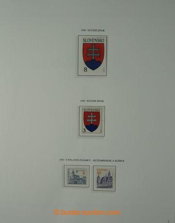 223869 - 1993-2007 [SBÍRKY]  nekompletní rozpracovaná sbírka na l