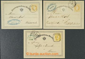 223912 - 1870-1871 Ferch.1, žluťásek 2Kr, I. vydání 1869, sestav