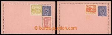 224119 - 1919 Mi.RK13, rakouská zálepka pro potrubní poštu Znak 4