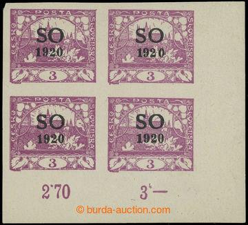 224170 -  Pof.SO2 RT, Hradčany 3h fialová, pravý dolní rohový ne