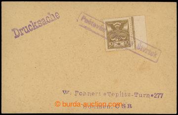 224278 - 1920 POŠTOVŇA PLAVECKÝ ŠTVRTOK, Geb.2259/2, rámečkové
