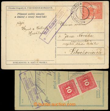 224282 - 1918-1919 TELCE (KLOBOZKY, ČECHY), Geb.1356/1a, znárodné