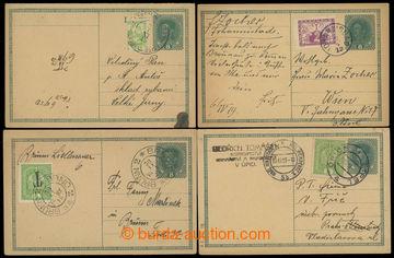 224361 - 1918-1919 CPŘ3, CPŘ4, rakouská dopisnice Karel 8h, sestav