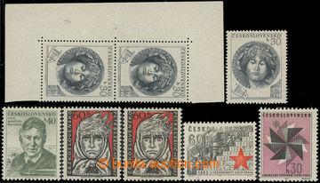 224390 - 1953-1963 TYPY A VÝROBNÍ VADY / sestava Pof.757 ST I+II ve