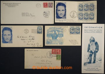 224445 - 1929-1935 BYRD ANTARCTIC EXPEDITION (I a II)  sestava 5 růz