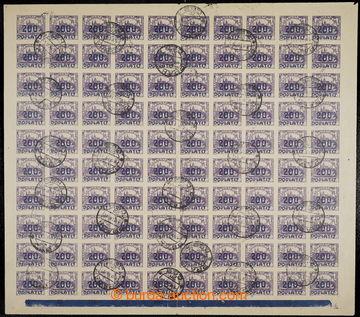 224471 - 1922 ARCHOVINA / Pof.DL26, Výpotřební Hradčany 200/400h