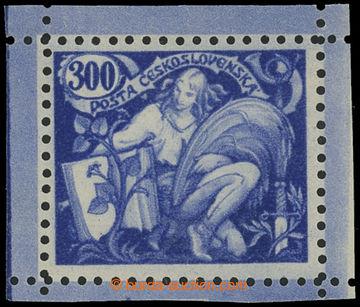 224506 -  ZT  hlubotiskový zkusmý tisk hodnoty 300h v modré barvě