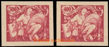 224510 -  ZT  hlubotiskový zkusmý tisk hodnoty 300h a 400h v červe