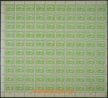 224550 -  ARCHOVINA / Pof.3D, 5h světle zelená, kompletní 100ks ar