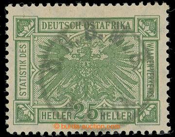 224625 - 1915 MAFIA ISLAND / SG.23, 25h zelená, německé vydání s