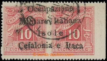 224636 - 1941 ITHAKA - Italská okupace / Sass.8 Segnatasse, II. vyd�