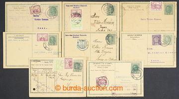 224682 - 1919 CPŘ3Pa, sestava 6ks rakouských souběžných dopisnic