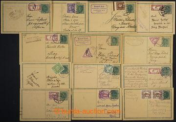 224746 - 1918-1919 CPŘ3, souběžné dopisnice Karel 8h, sestava 13k