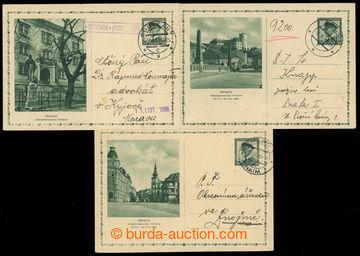 224760 - 1936 CDV63/1-3, Středomoravská výstava v Přerově, kompl