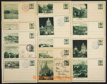 224763 - 1935 CDV59/2-15, Propagační obrazové dopisnice TGM 50h -