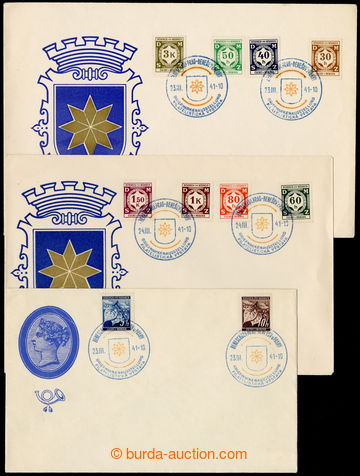 224875 - 1941 PR48, BENEŠOV U PRAHY / Filatelistická výstava, sest