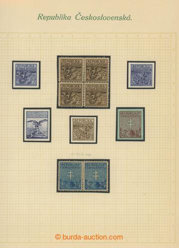 224889 - 1920 ZT  návrhů pro výplatní známky Národní motivy od