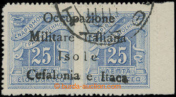 225071 - 1941 ITHAKA - Italská okupace / Sass.9 Segnatasse, řecká