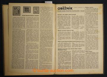 225099 - 1938-1953 FILATELISTICKÉ ČASOPISY /  sestava titulů: Trib