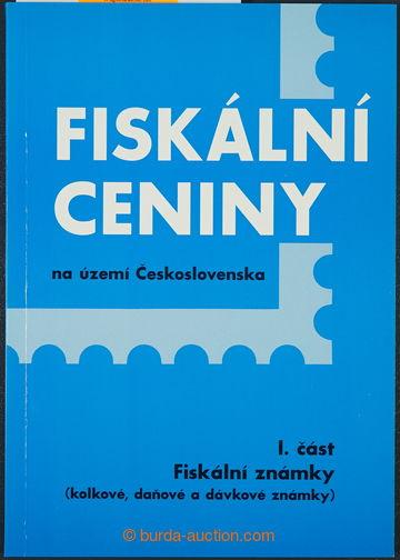 225105 - 1997-1998 KOŘINEK: Fiskální ceniny I. a II. díl; bez po�