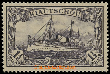 225120 - 1905 Mi.26A, Emperor´s Yacht $1½; very fine and rare stamp