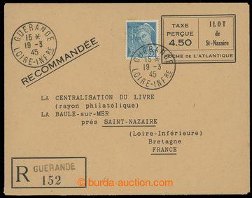 225125 - 1945 FRANKREICH - ST. NAZAIRE / R- celinová obálka ILOT DE