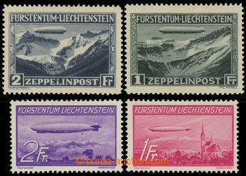225138 - 1931-1936 Mi.114-115, 149-150, obě zeppelinové série; nep