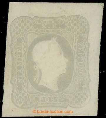 225155 - 1861 ANK.23a, FJI 1.05Kr světle šedá; bezvadný kus s pů