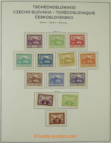225259 - 1918-1939 [SBÍRKY]  zajímavá rozpracovaná sbírka na zas