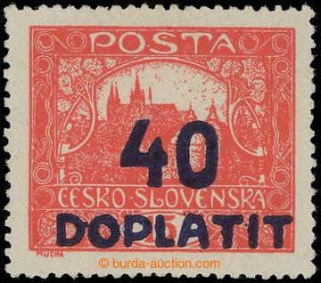 225363 - 1922 Pof.DL30B, Výpotřební  Hradčany 40/15h cihlově če
