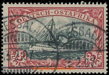 225474 - 1901 Mi.21a, Císařská jachta 3R tmavě karmínová / zele