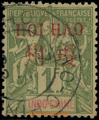 225478 - 1901 FRANCOUZSKÁ POŠTA V ČÍNĚ / HOI-HAO / Yv.14, Mi.15I