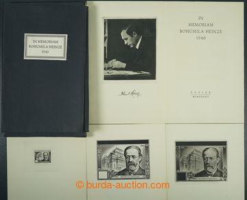225601 - 1942 IN MEMORIAM BOHUMILA HEINZE 1940 / významná publikace