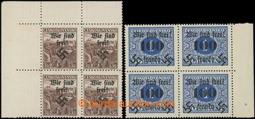 225604 - 1939 RUMBURG / Mi.15, 43, Český ráj 3Kč a Doplatní 100h