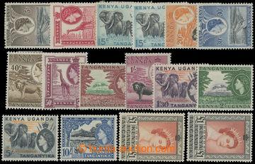 225700 - 1954 SG.167-180, Alžběta II. - Motivy 5C - £1, koncová 1