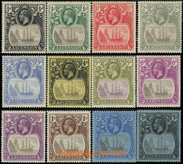 225718 - 1924 SG.10-20, Jiří V. Fregata u Jamestownu ½P-3Sh; bezva