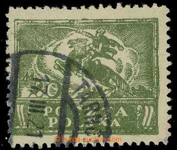 225782 - 1921 Mi.117, Fischer 101 F1, 20Mr zelená, padělek ke škod