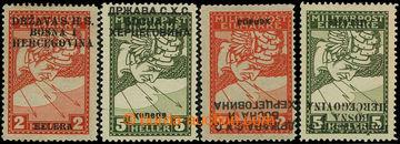 225818 - 1918 VYDÁNÍ PRO BOSNU A HERZEGOVINU / Mi.17 IA, 18 II, 17