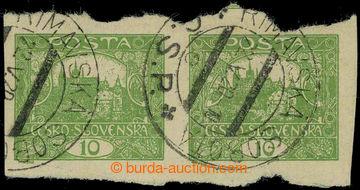 225826 -  Pof.6, 10h zelená, vodorovná 2-páska, 2x DR RIMAVSKÁ SO