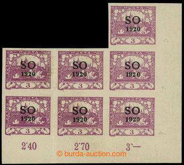 225828 -  Pof.SO2 RT, Hradčany 3h fialová, pravý dolní rohový ne