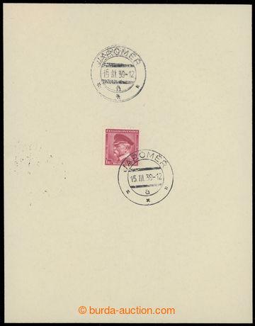 225864 - 1939 1. DEN / protektorátu ČaM, smuteční nálepní list